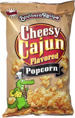 Southern Recipe Cheesy Cajun Flavored Popcorn