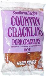 Southern Recipe Country Cracklins Pork Cracklins Hot Hard Rinds