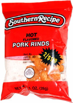 Southern Recipe Hot Flavored Pork Rinds
