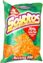 Soyitos Soy & Corn Snacks Mexican BBQ