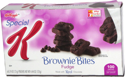 Special K Brownie Bites Fudge