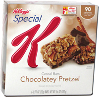 Special K Cereal Bars Chocolatey Pretzel