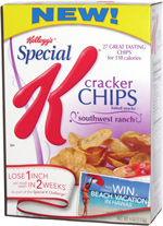 Special K Cracker Chips Southwest Ranch