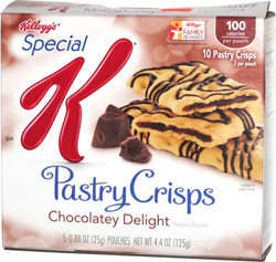 Special K Pastry Crisps Chocolatey Delight