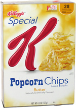 Special K Popcorn Chips Butter