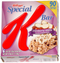 Special K Bar Cranberry Apple