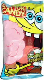 The SpongeBob Squarepants Movie Cotton Candy