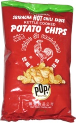The Original Sriracha Hot Chili Sauce Kettle Cooked Potato Chips