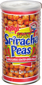Hapi Snacks Spicy Sriracha Peas