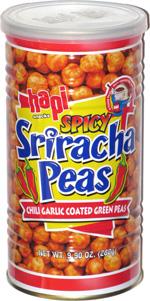 Hapi Snacks Spicy Sriracha Peas