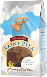 Saint Pita Fiery Cinnamon Sugar Heavenly Pita Chips