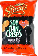 Stacy's Soy Thin Crisps Sweet BBQ