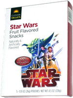 Clover Valley Star Wars Fruit Flavored Snacks