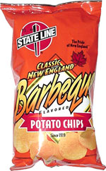State Line Classic New England Barbeque Potato Chips