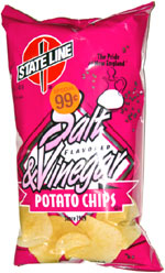 State Line Salt & Vinegar Potato Chips