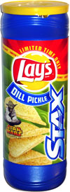 Lay's Stax Dill Pickle