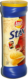 Lay's Stax Sweet Thai Chili