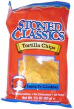 Stoned Classics Santa Fe Cheddar Tortilla Chips