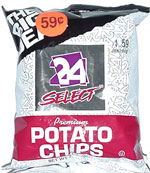 24 Select Potato Chips