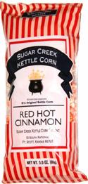 Sugar Creek Kettle Corn Red Hot Cinnamon
