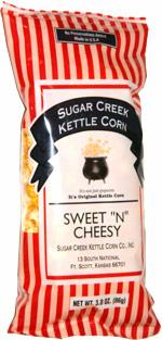 Sugar Creek Kettle Corn Sweet 'n' Cheesy