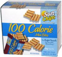 Sun Chips Harvest Cheddar 100 Calorie Mini Bites