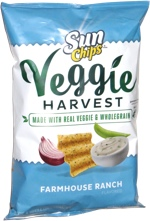 Sun Chips Veggie Harvest Farmhouse Ranch