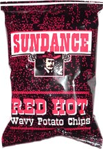 Sundance Red Hot Wavy Potato Chips