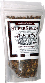 Kathie's Kitchen SuperSeedz Pumpkin Seeds Cinnamon & Sugar