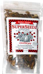 Kathie's Kitchen SuperSeedz Pumpkin Seeds Somewhat Spicy