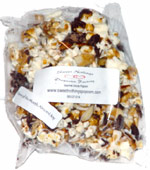 Sweet Nothings Popcorn Factory Gourmet Drizzle Popcorn Flavor of the Month Almond Joy