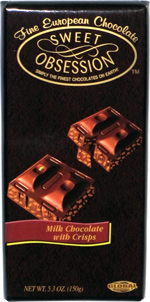 Sweet Obsession Milk Chocolate with Crisps
