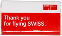Thank You For Flying Swiss Chocolate Bar
