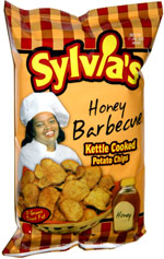 Sylvia's Honey Barbecue Kettle Cooked Potato Chips