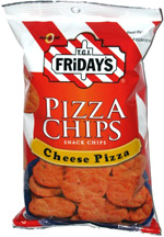 T.G.I. Friday's Pizza Chips Cheese Pizza