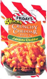 T.G.I. Friday's Crunchy Cheddar Bites Jalapeno Cheddar