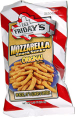 T.G.I. Friday's Mozzarella Snack Sticks Original Flavor