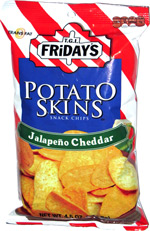 T.G.I. Friday's Jalapeño Cheddar Potato Skins
