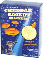 Trader Joe's Cheddar Rocket Crackers