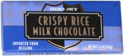 Trader Joe's Crispy Rice Milk Chocolate