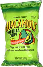 Trader Jose's Guacamole Tortilla Chips