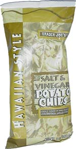 Trader Joe's Hawaiian Style Salt & Vinegar Potato Chips