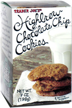 Trader Joe's Highbrow Chocolate Chip Cookies