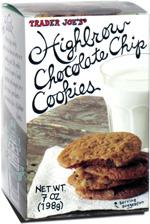 Trader Joe's Highbrow Chocolate Chip Cookies