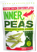 Trader Joe's Contemplates Inner Peas
