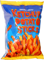 Trader Joe's Ketchup Potato Sticks