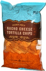Trader Joe's Nacho Cheese Tortilla Chips
