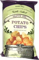 Trader Joe's Kettle Cooked Olive Oil Potato Chips
