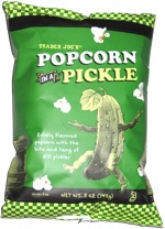 Trader Joe's Popcorn in a Pickle