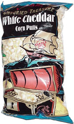 Buckaneer Joe's Unburied Treasure White Cheddar Corn Puffs